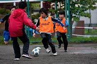 サッカー教室の高学年写真1