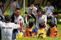 サッカー教室の幼児、幼稚園児写真2