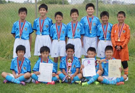 フジパングループPresents2017ロバパンCUP第49回全道サッカー少年団大会 ベスト8