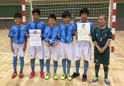 バーモントカップ第21回全日本U-12フットサル選手権 北海道大会 第3位